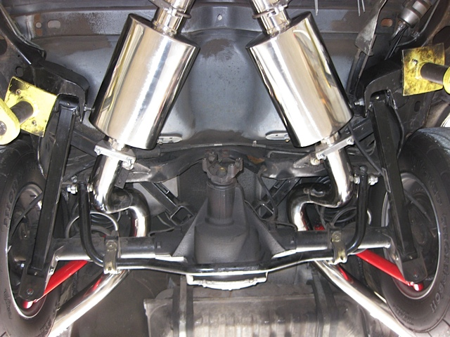 STAINLESS CATBACK EXHAUST